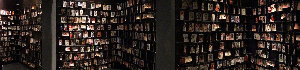 Offer för folkmordet från  Genocide Memorial Center i Kigali