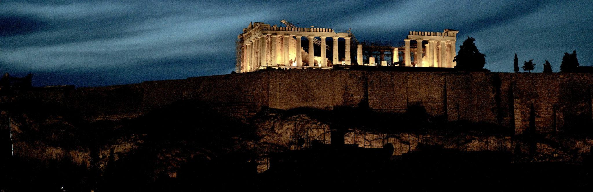 Akropolis och Parthenon
