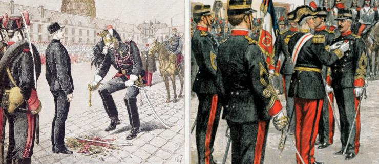 Dreyfus - degradering och upprättelse