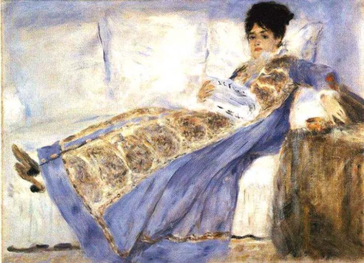 Renoir - Madame Monet