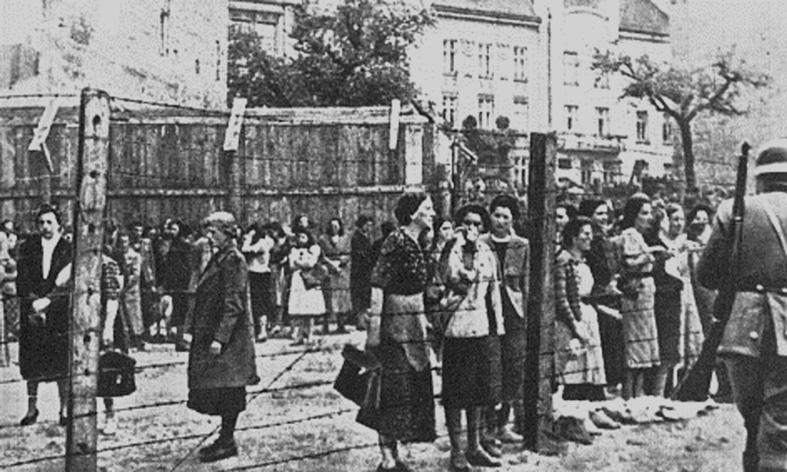 Gettot i Lvov våren 1942