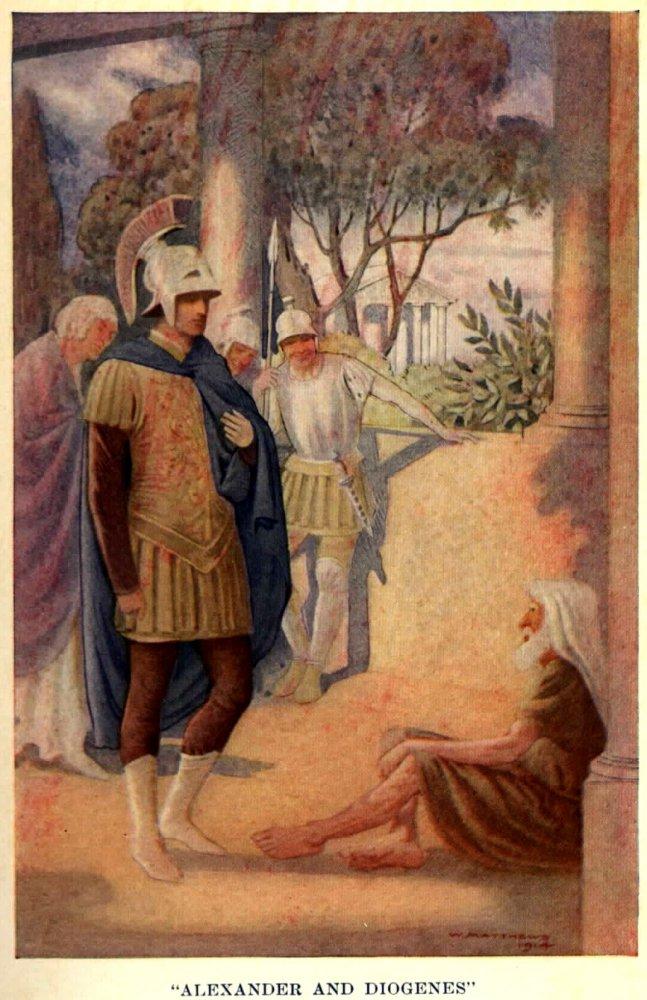 Alexander_besöker_Diogenes_av_W._Matthews_(1914)