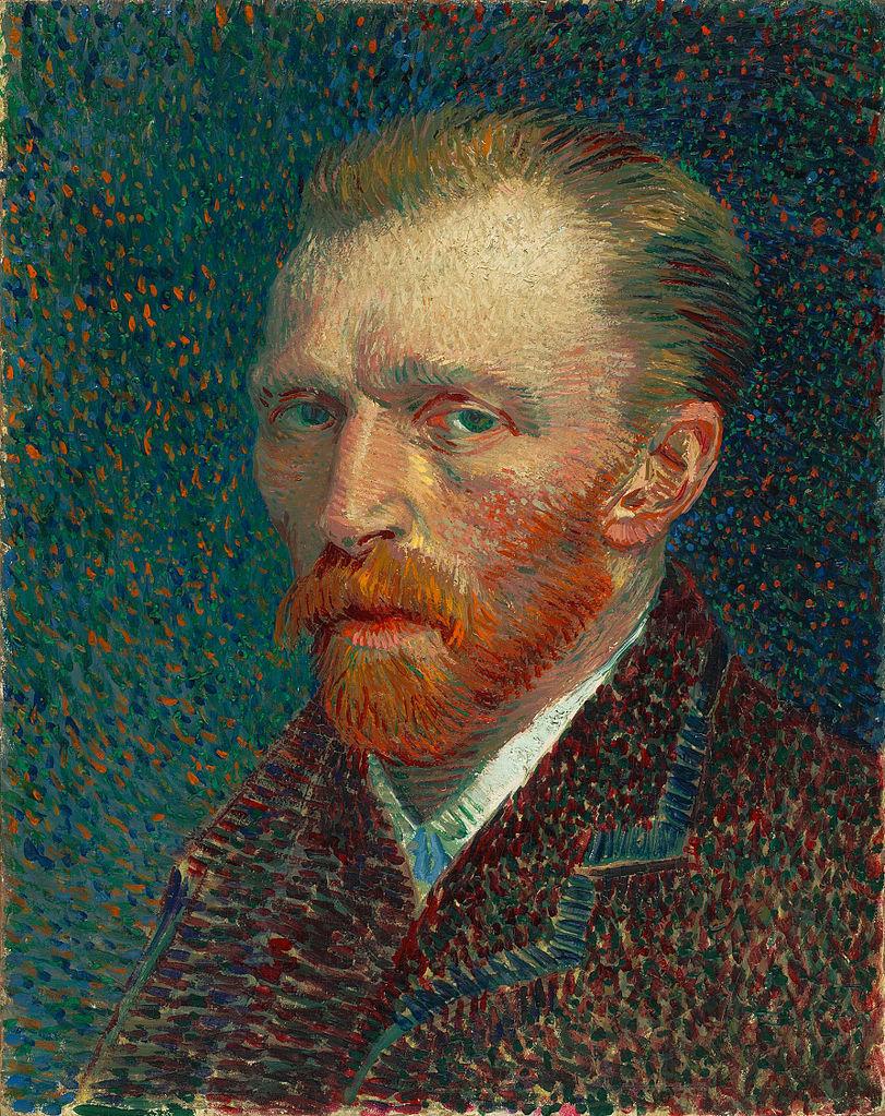 van Gogh - Självporträtt från 1887