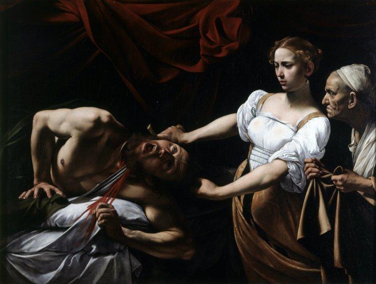 Caravaggio - Judith och Holofernes