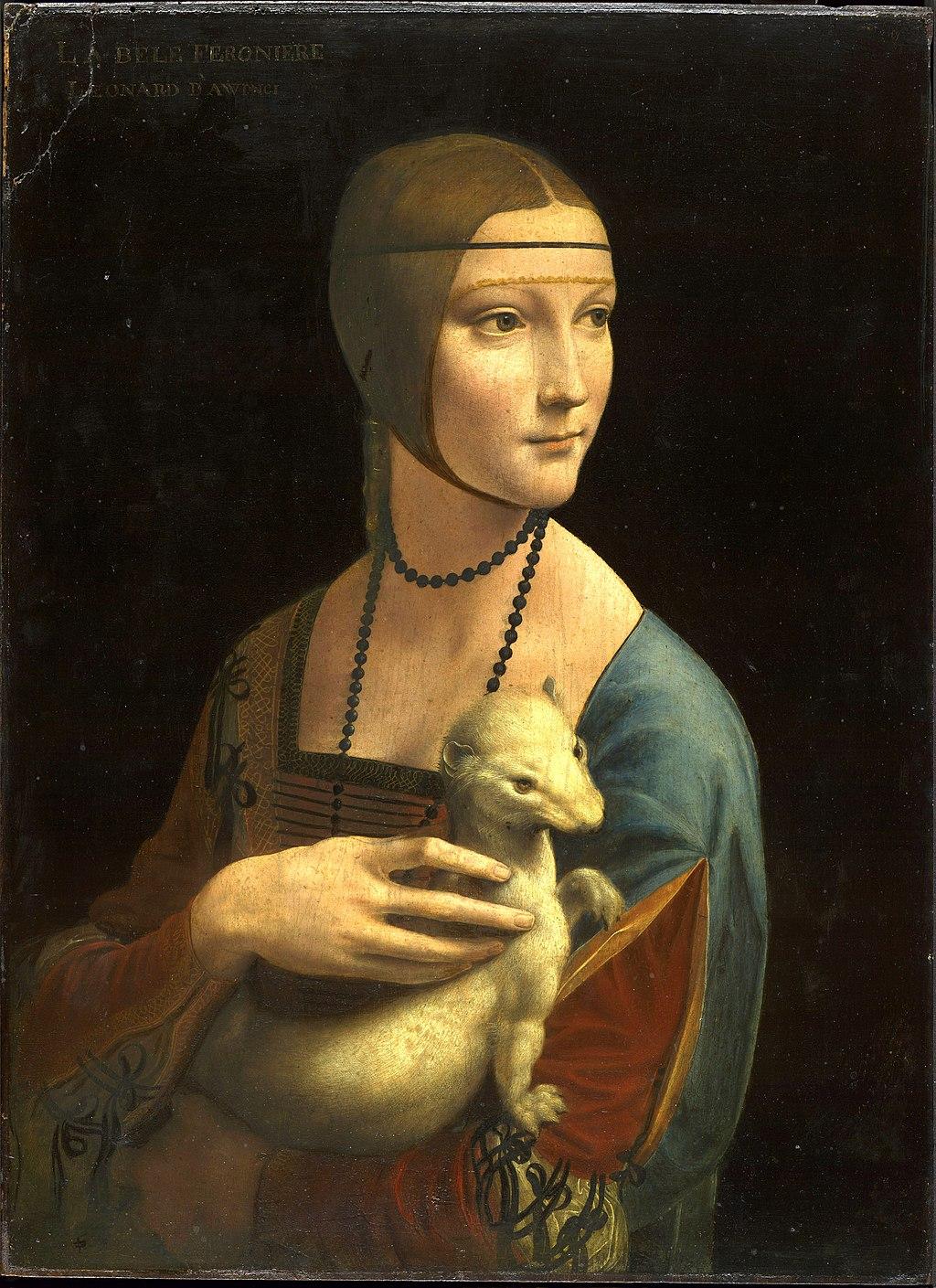 da Vincis Damen med Hermelinen
