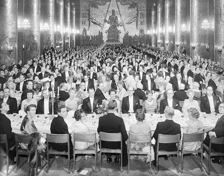 Nobelmiddagen 1958