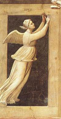 Giotto - Spes (Hopp) - Cappella degli Scrovegni, Padova