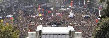 Snabbrapport från demonstrationen i Rom