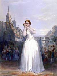 Jenny Lind i Bellinis La sonnambula