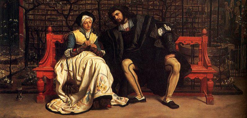 James Tissot - Faust och Margareta i trädgården