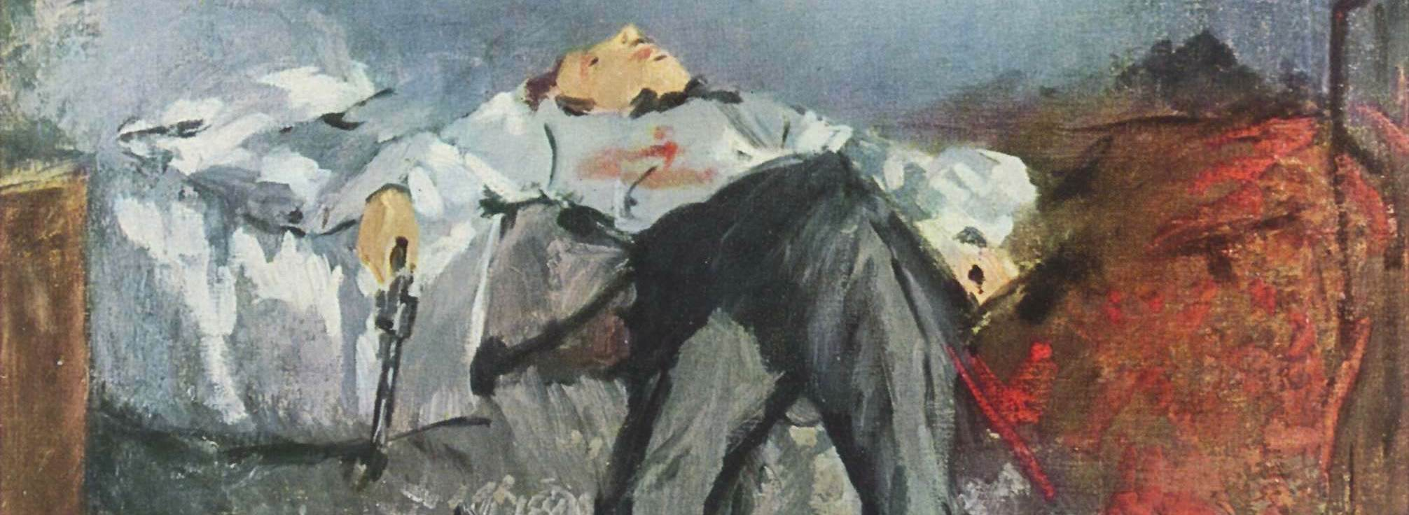 Manet - Le Suicidé (Wikimedia Commons)