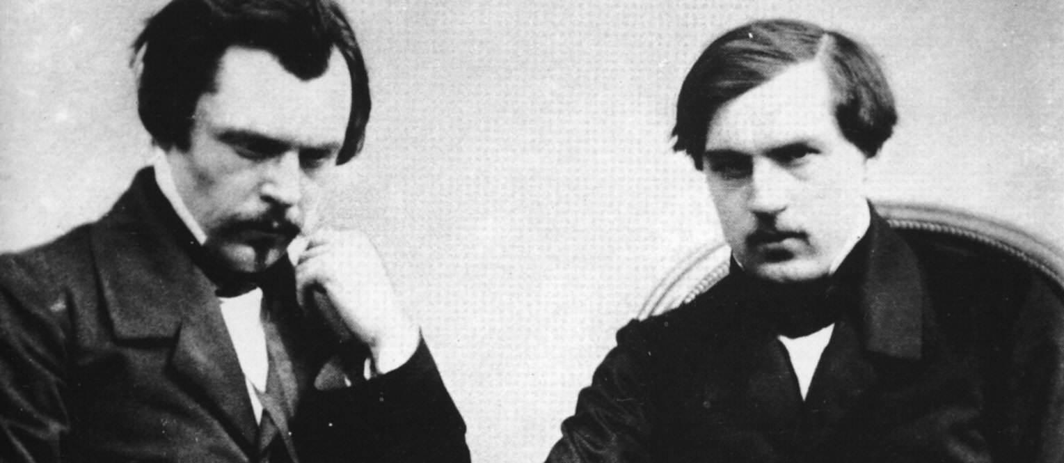 Bröderna Edmond och Jules Goncourt