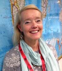 Cecilia Nordin Van Gansberghe (Foto: Åke Malm)