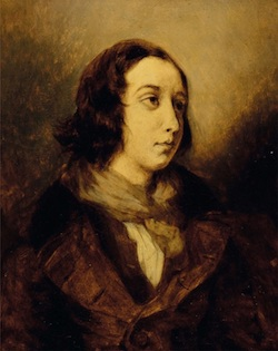 Eugène Delacroix - George Sand habillé en homme (Wi