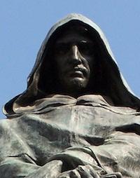 Giordano Bruno på Campo de' Fiori i Rom