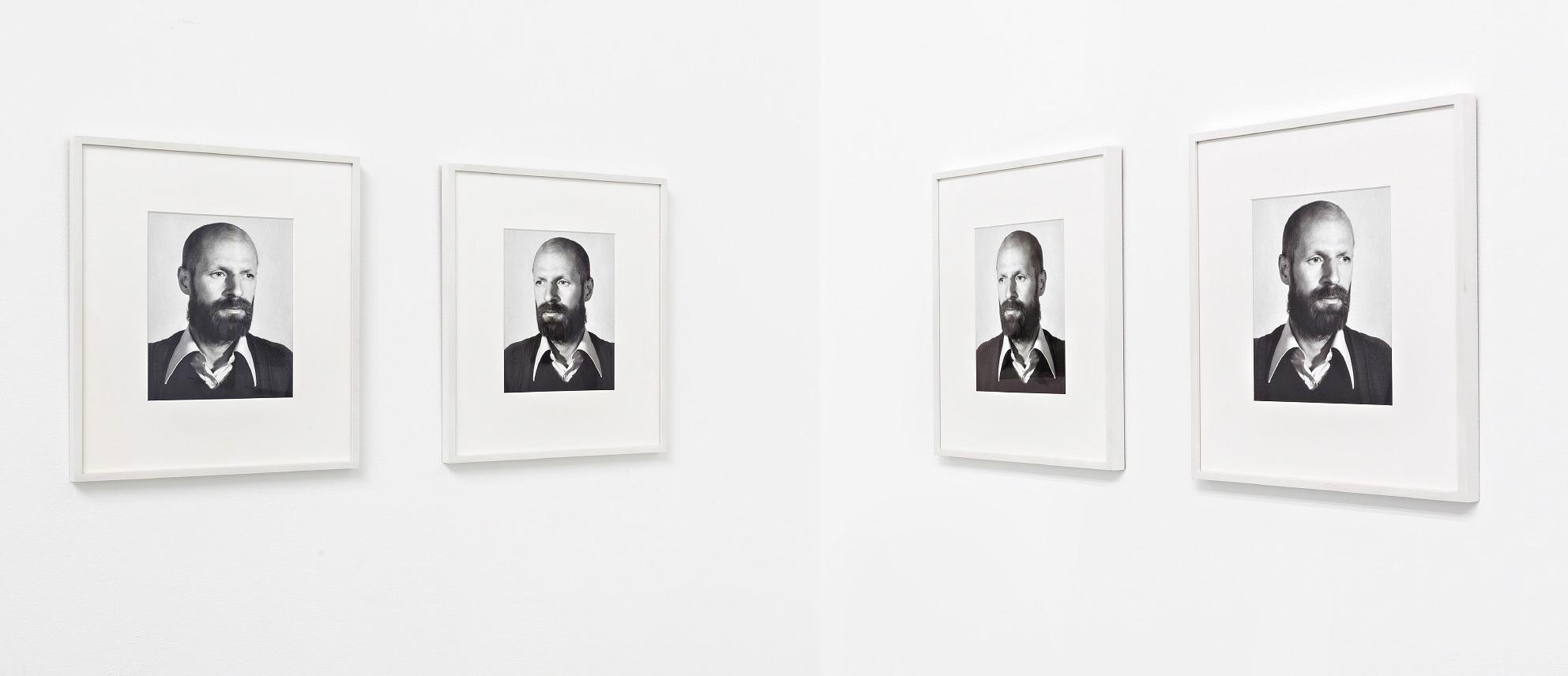 Från utställningen på Charité - Hreinn Friðfinnsson, The Way We Were, 2002 © Hreinn Friðfinnsson / Galerie Nordenhake, Berlin,