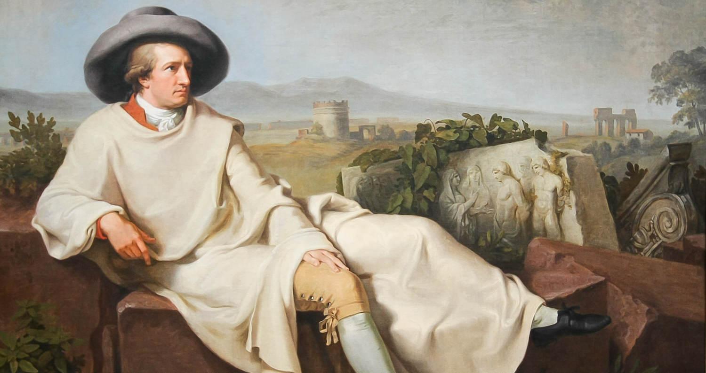 Tischbein - Goethe i Italien (Wikicommons)