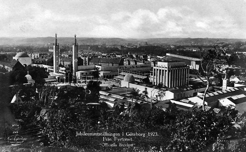 Från Jubileumsutställningen 1923