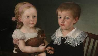 Langus - porträtt av syskon