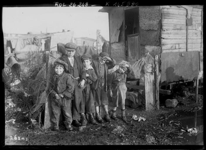 Les enfants de la zone (Ivry, 1913)