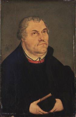 Cranach d.y. - Luther