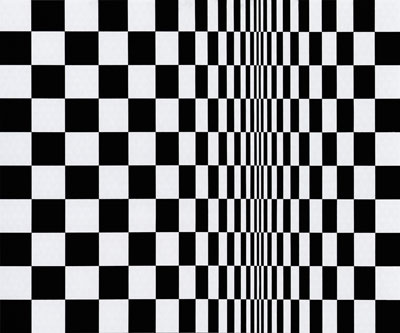 Bridget Riley - Movement in Square