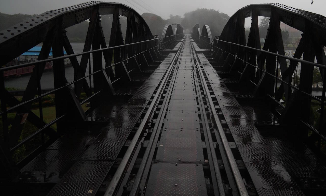 Bron över floden Kwai (Wikicommons)