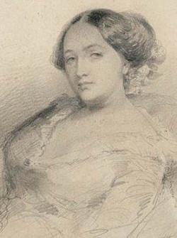 Clésinger -  Portrait de Solange Dudevant (1828-1899), dite Solange Sand