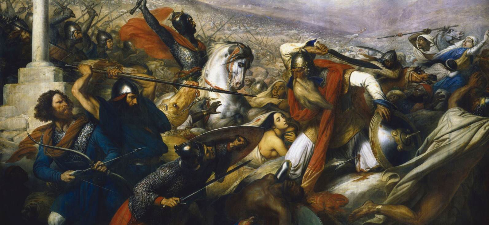 Charles de Steuben - Slaget vid Poitiers 732 (Wikipedia)