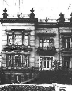 """Villan på Tiergartenstrasse 4 i Berlin , högkvarteret för nazisternas """"eutanasi""""-program"""