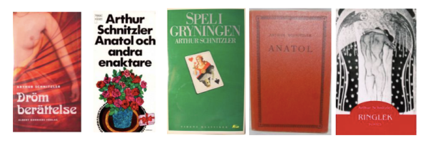 Begagnade böcker av Schnitzler i svensk översättning finns på  Bokbörsen