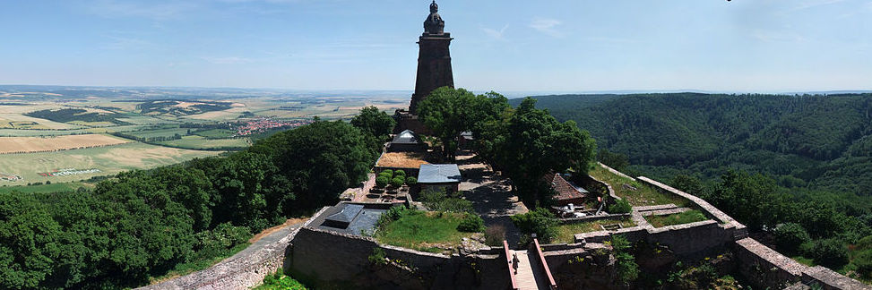 Utsikt Kyffhäusermonumentet (Bild:Wikimedia Commons)