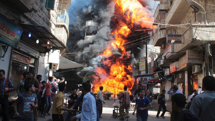 Syrien (skärmdump från Youtube)
