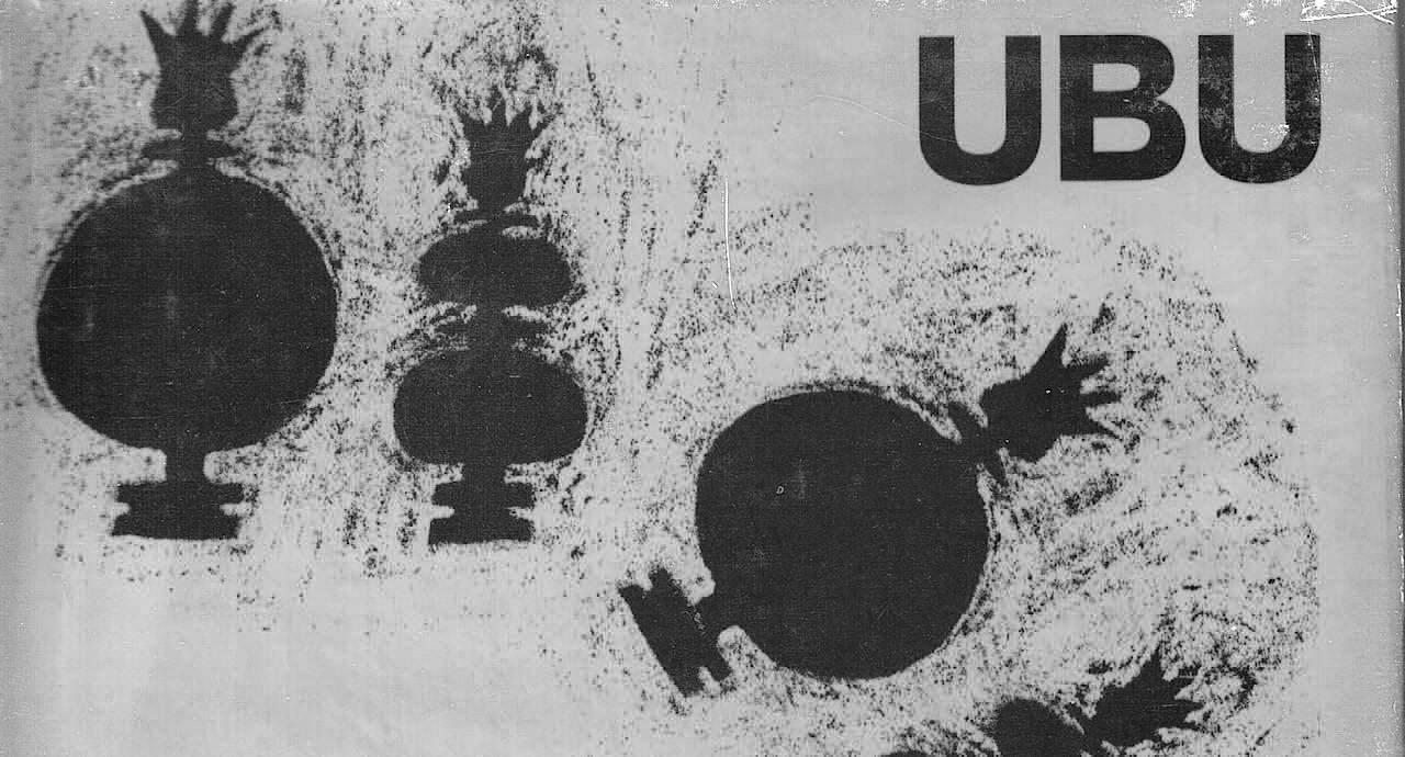 Omslaget till Franciszka Themersons tecknade UBU